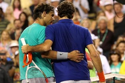 Надаль в 19-й раз в карьере обыграл Федерера