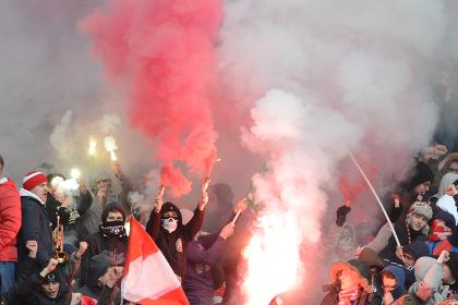 После матча в «Лужниках» задержали 100 болельщиков