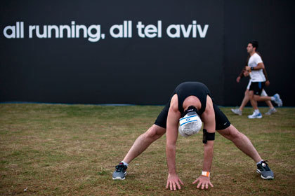 На марафоне в Тель-Авиве умер бегун