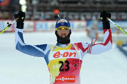 Российские биатлонисты провалили гонку в Ханты-Мансийске