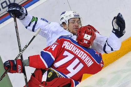 Хоккеисты «Динамо» выиграли полуфинальную серию в КХЛ