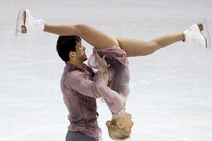 Российская пара выиграла ЧМ по фигурному катанию