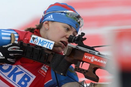 Российские биатлонистки остались без медалей в последней гонке Кубка мира