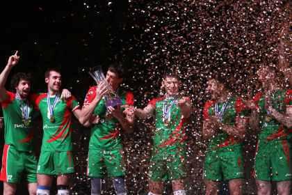 Новосибирский «Локомотив» выиграл волейбольную Лигу чемпионов