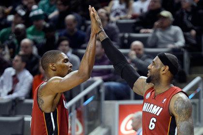 «Майами» выиграл 22 игры чемпионата НБА подряд