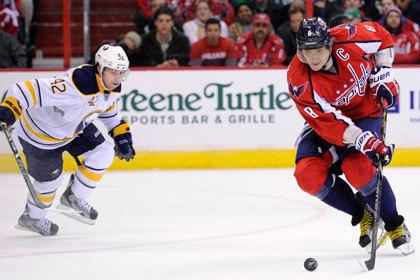 Овечкин забросил 380-ю шайбу в НХЛ