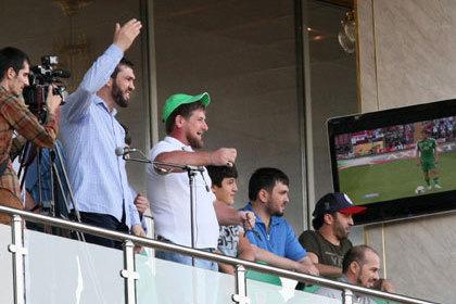 Объявление на стадионе о «продажном» судье сделал Кадыров