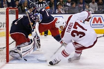 Российский вратарь попал в число лучших игроков недели в НХЛ