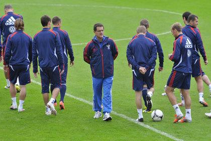 Сборная России по футболу проведет два матча в Санкт-Петербурге
