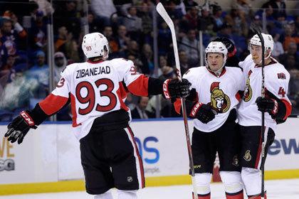 Сергей Гончар набрал три очка в матче НХЛ