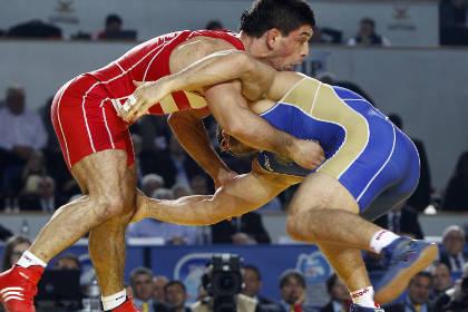 Российский борец завоевал золото на чемпионате Европы