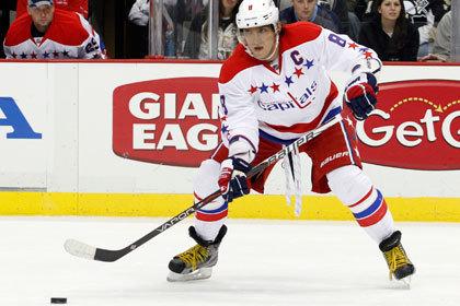 Овечкин набрал три очка в матче НХЛ