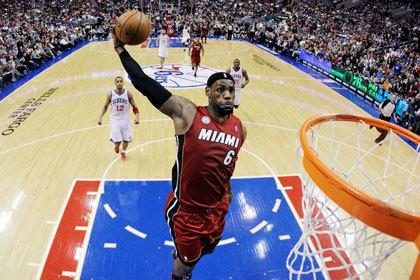 Баскетболисты «Майами Хит» довели победную серию до 25 матчей