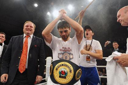 Российский боксер отменил защиту чемпионского титула