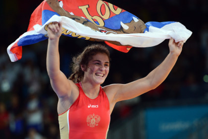 Россиянка завоевала золото на чемпионате Европы по борьбе