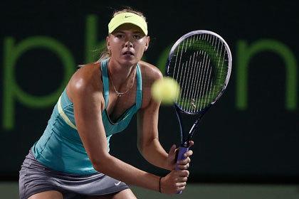 Шарапова вышла в четвертьфинал турнира в Майами