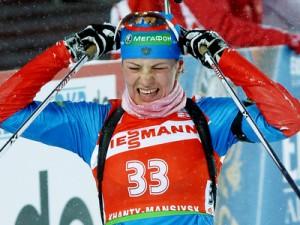 Коровина — чемпионка России в масс-старте