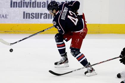 Российский форвард забросил победную шайбу в матче НХЛ