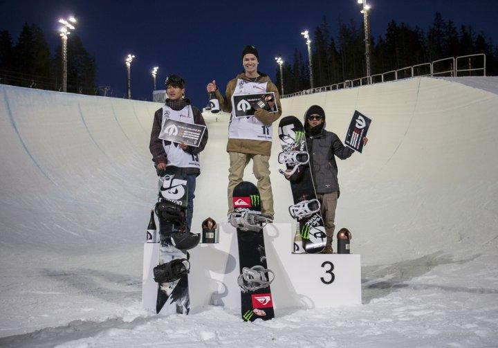 Чемпион The Arctic Challenge Юрий Подладчиков