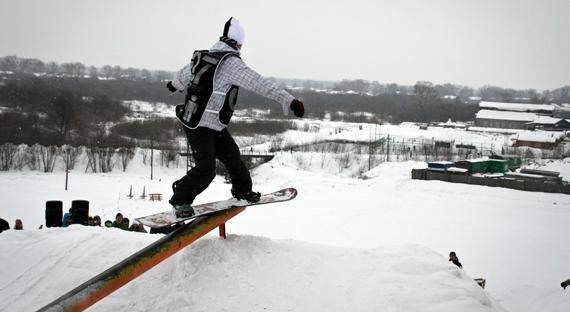Кировские власти не поощряют увлечение молодежи сноубордом