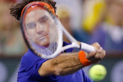 Роджер Федерер опустился на третью строчку теннисного рейтинга
