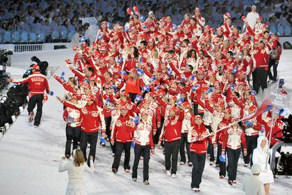 На Олимпиаде в Сочи россияне выступят в красно-белой форме