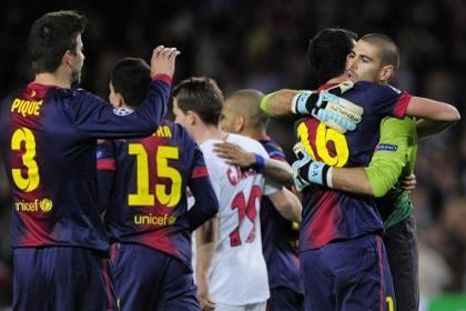 «Барселона» и «Бавария» вышли в полуфинал Лиги чемпионов