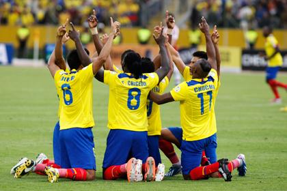 Эквадор опередил Россию в рейтинге ФИФА