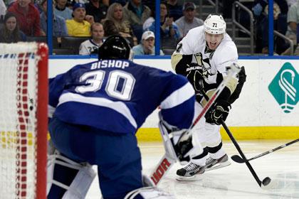 Малкин забросил победную шайбу в матче НХЛ