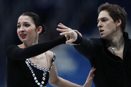 Российские танцоры стали третьими на командном ЧМ по фигурному катанию