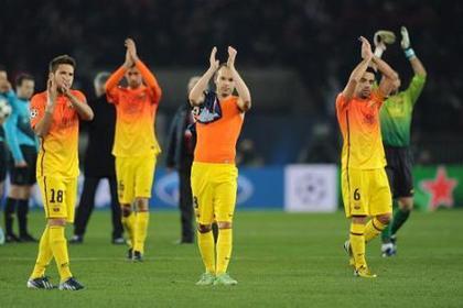 «Барселона» упустила победу на последней минуте матча Лиги чемпионов