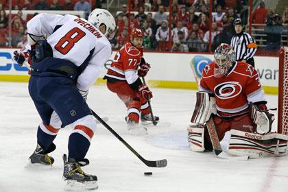 Овечкин забросил победную шайбу в матче НХЛ