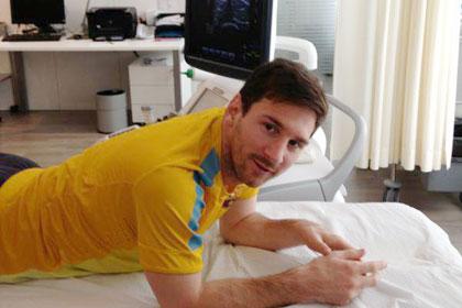 Лионель Месси избежал серьезной травмы