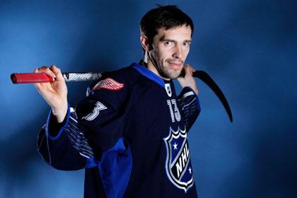 Дацюка признали третьей звездой дня в НХЛ