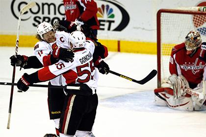 Шайба Сергея Гончара вывела «Оттаву» в плей-офф НХЛ