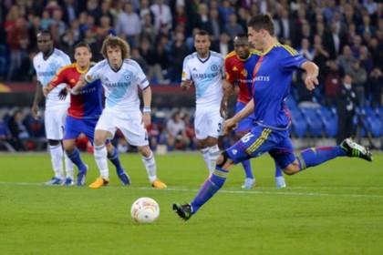 «Челси» обыграл «Базель» в полуфинале Лиги Европы