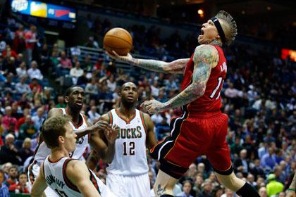 «Майами» одержал третью победу в плей-офф НБА