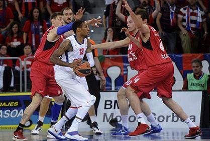 Баскетбольный ЦСКА крупно проиграл в плей-офф Евролиги