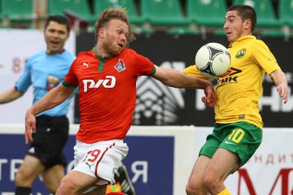 «Кубань» не смогла одолеть московский «Локомотив» в матче премьер-лиги