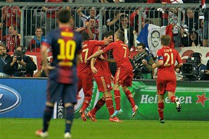«Бавария» разгромила «Барселону» в полуфинале Лиги чемпионов