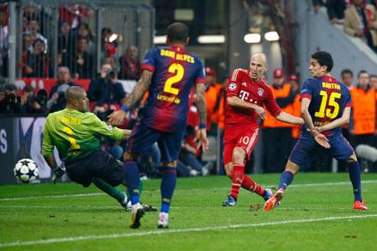 Три гола «Баварии» в матче с «Барселоной» назвали забитыми не по правилам