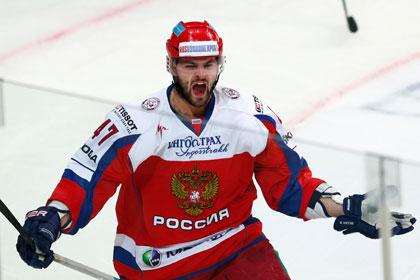 Сборная России сыграет последний этап Евротура без Радулова