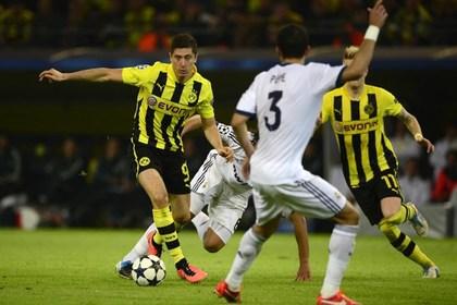 «Боруссия» разгромила «Реал» в полуфинале Лиги чемпионов