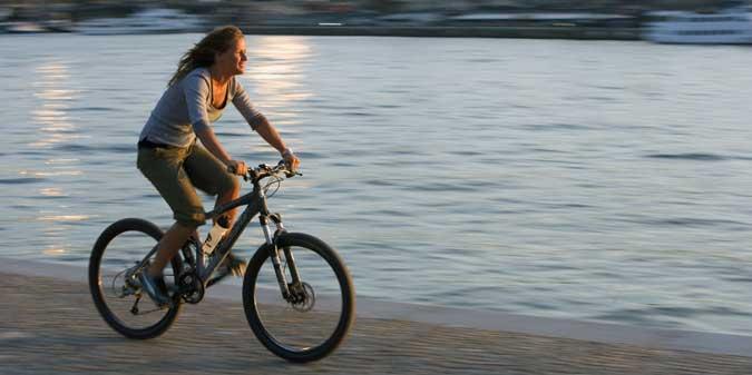На велосипеде за здоровьем