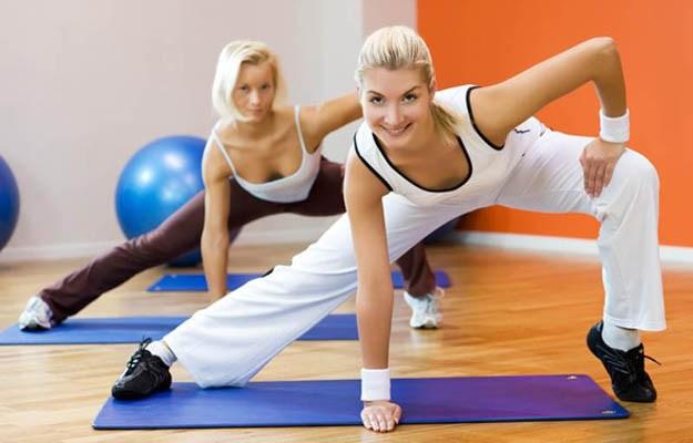 Фитнес и женщина