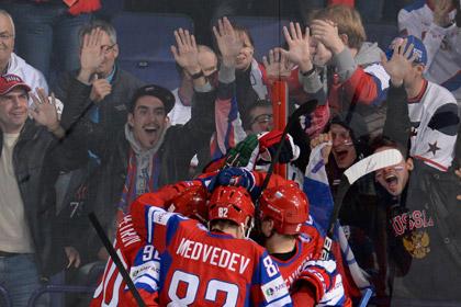 Сборной России на ЧМ по хоккею мешали болельщики