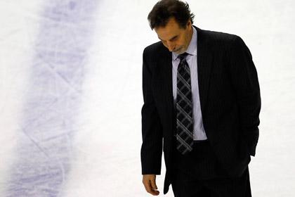 «Нью-Йорк Рейнджерс» уволил тренера