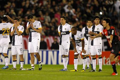 В игре Кубка Либертадорес пробили 26 послематчевых пенальти