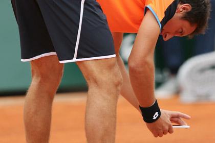 Сфотографировавший корт теннисист оштрафован