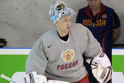 Билялетдинов сменил вратаря перед второй игрой ЧМ по хоккею